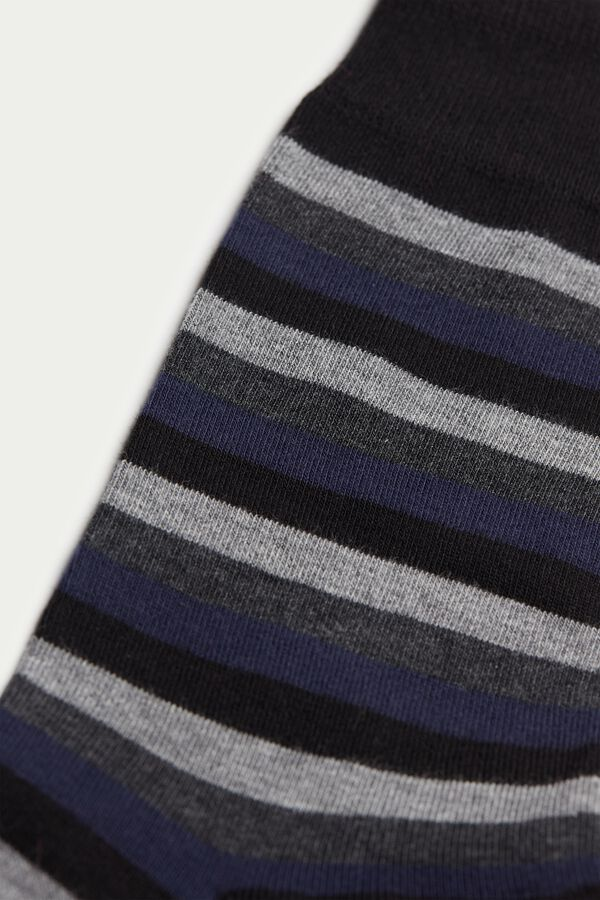 Short Patterned Cotton Socks