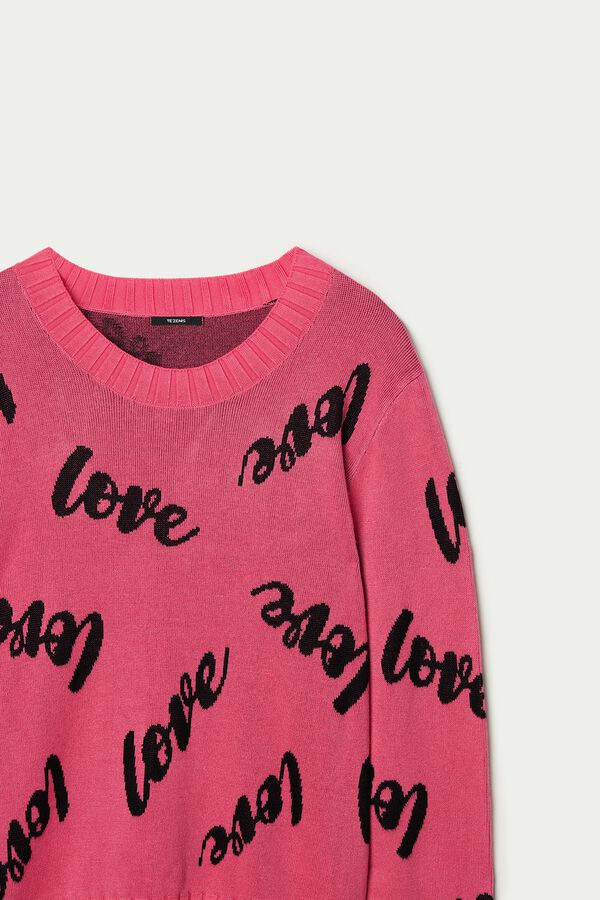 Long-Sleeved Lettering Jersey