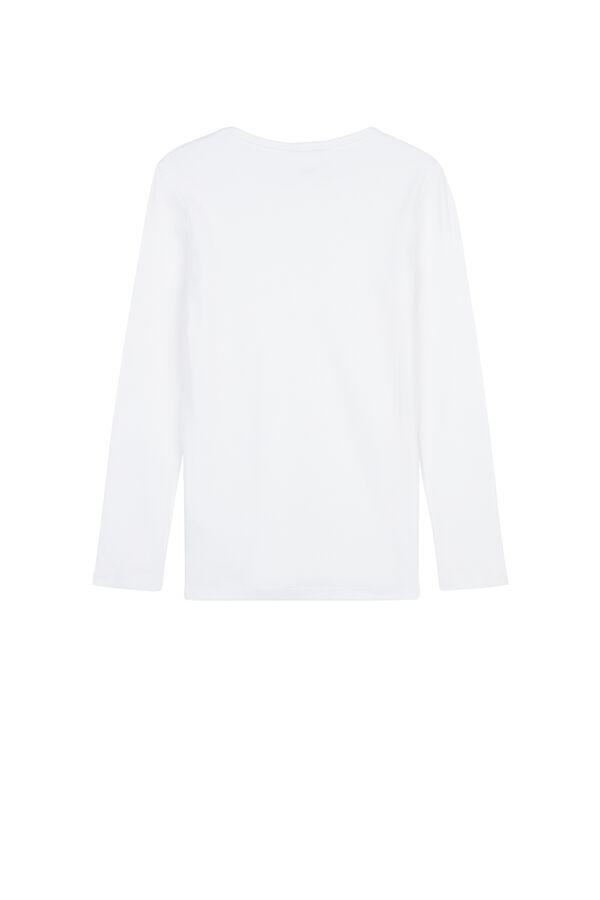 Unisexes T-Shirt à Manches Longues en Coton Chaud