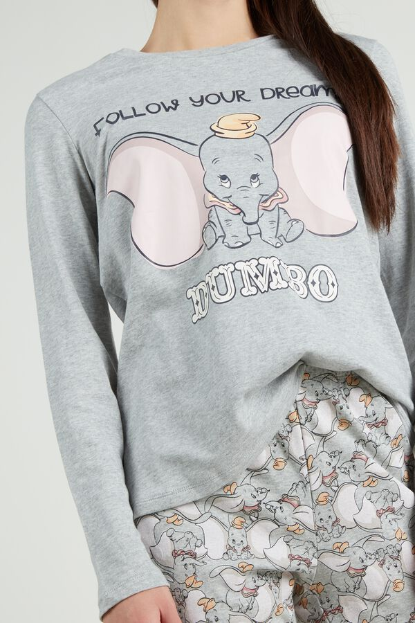 Pijama Largo de Algodón Disney