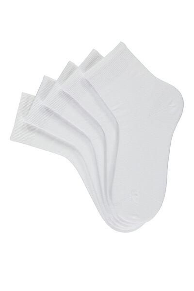 5 X Short Cotton Socks