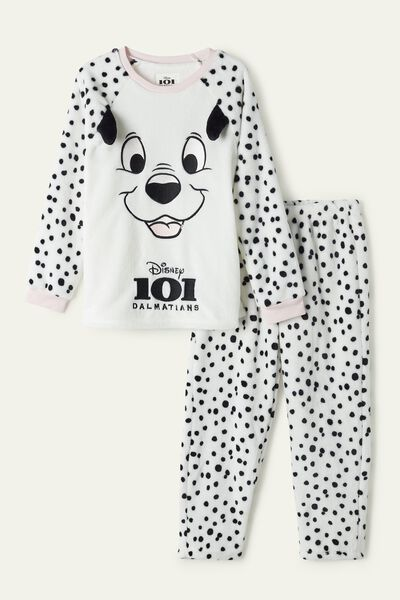 Disney 101 and Polka Dot Long Fleece Pyjamas