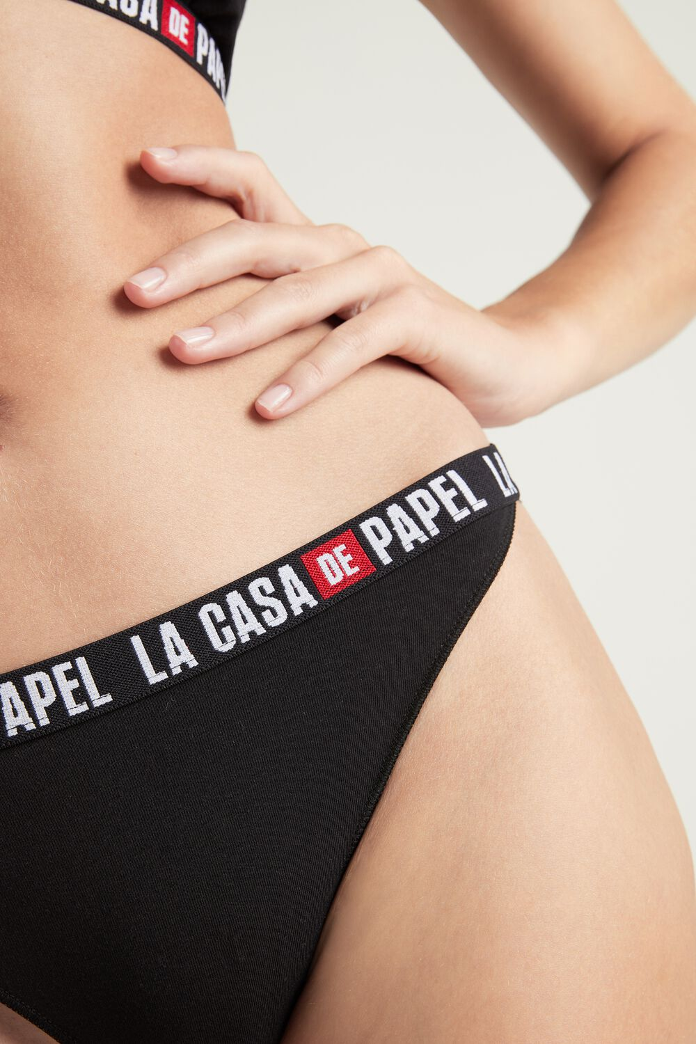 """La casa de papel"" Cotton Briefs"