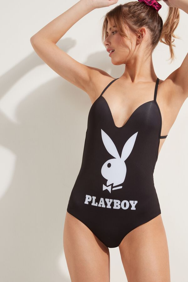 Playboy One-Piece Swimsuit