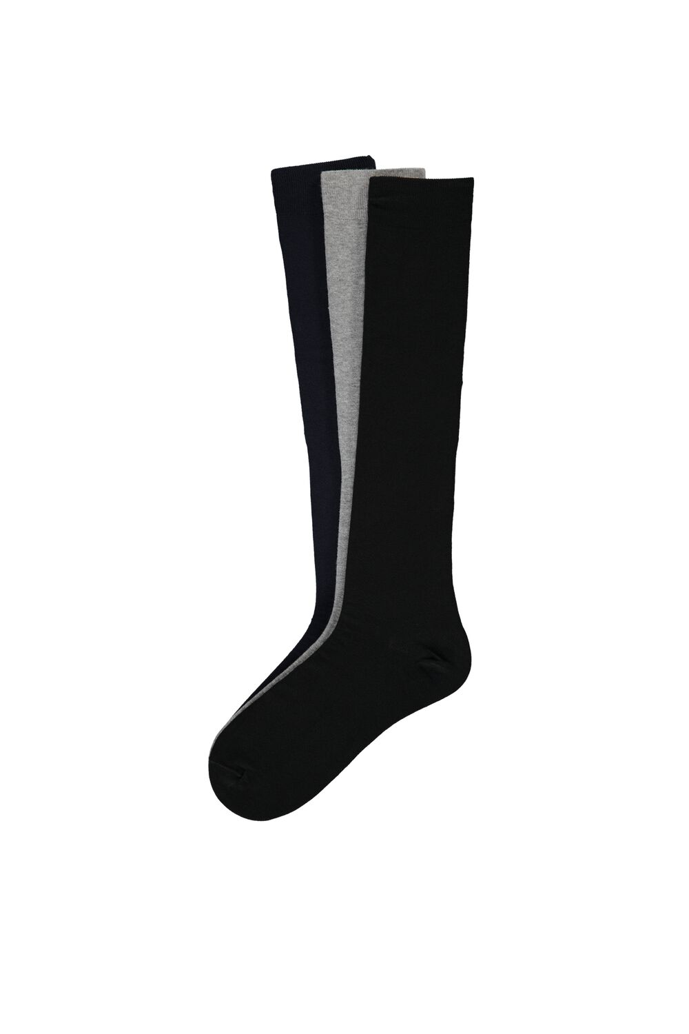 3 X Lightweight Long Cotton Socks