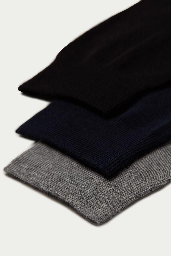 3 X Lightweight Long Cotton Socks