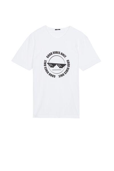 Koszulka z Bawełny z Nadrukiem