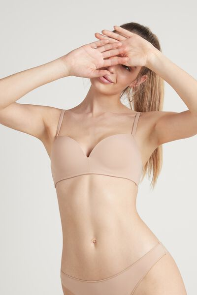 Reggiseno Push-Up Rome Senza Ferretto in Microfibra