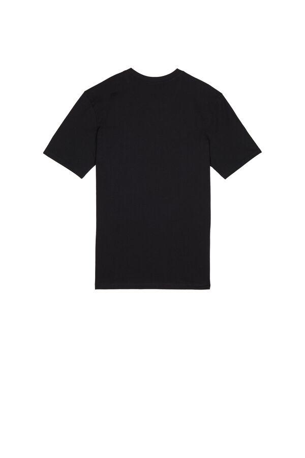 T-Shirt Basic mit weiter Passform aus Baumwolle