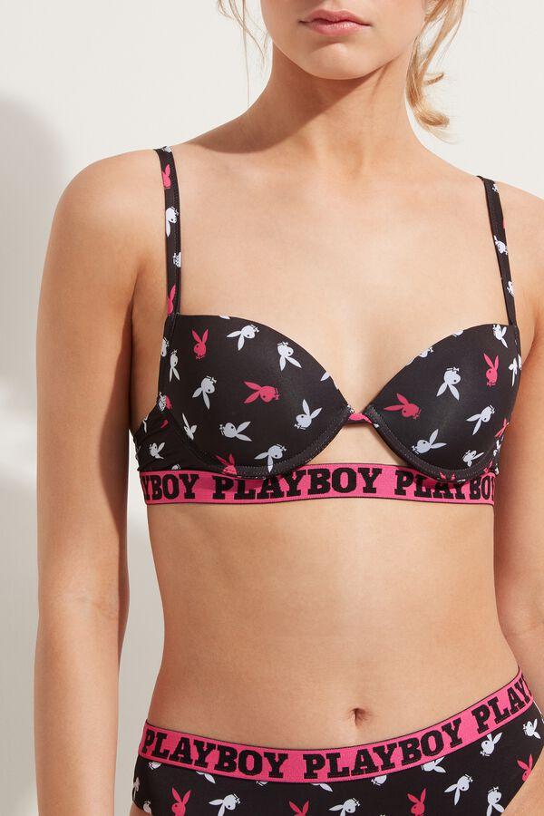 Push-Up-Bikinioberteil Playboy