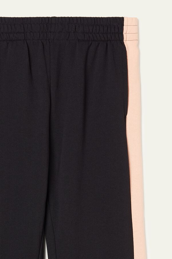 Long Fleece Trousers with Band