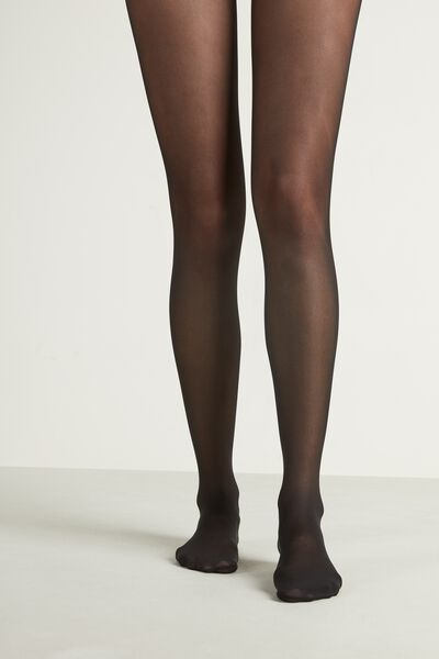 2 X 40 Den Semi-Opaque Tights Appearance