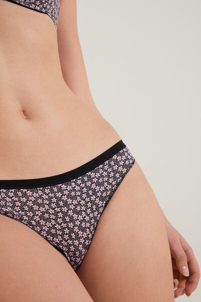Printed Cotton Brazilian Briefs