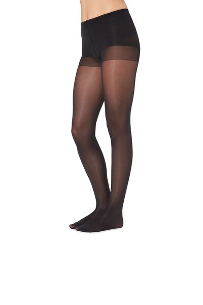 2 X 100 Den Ultra Opaque Microfiber Tights