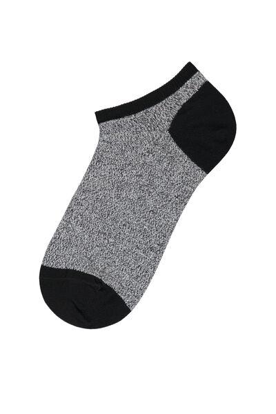 Calcetines Cortos de Algodón Estampado