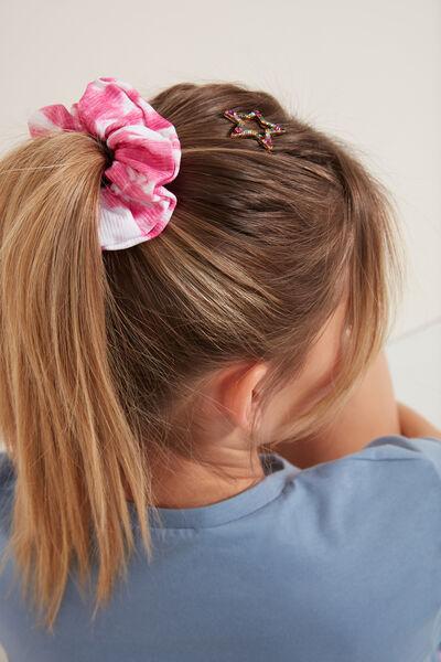 Gemusterte Haarschleife