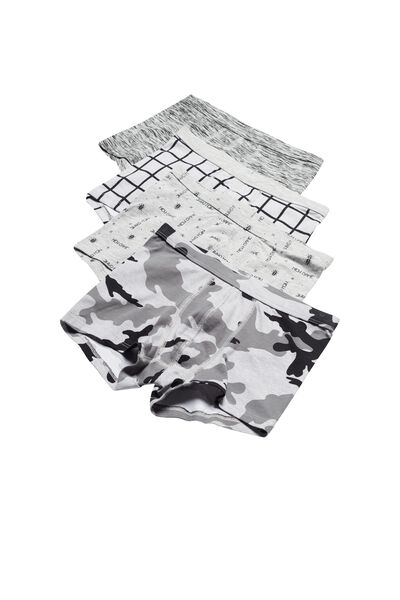 4er-Pack Boxershorts aus Baumwolle mit Muster-Print