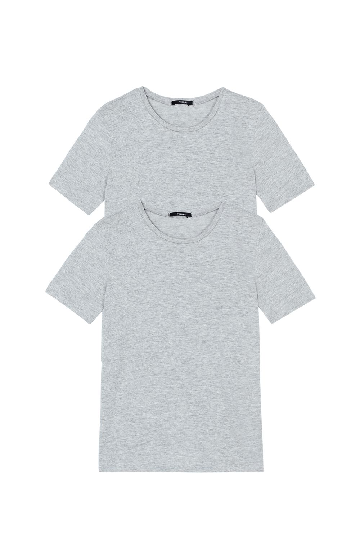 2 X Unisex Short-Sleeved Top in Jersey