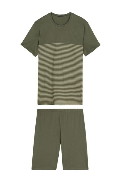 Men's Short Small Stripes Pyjamas
