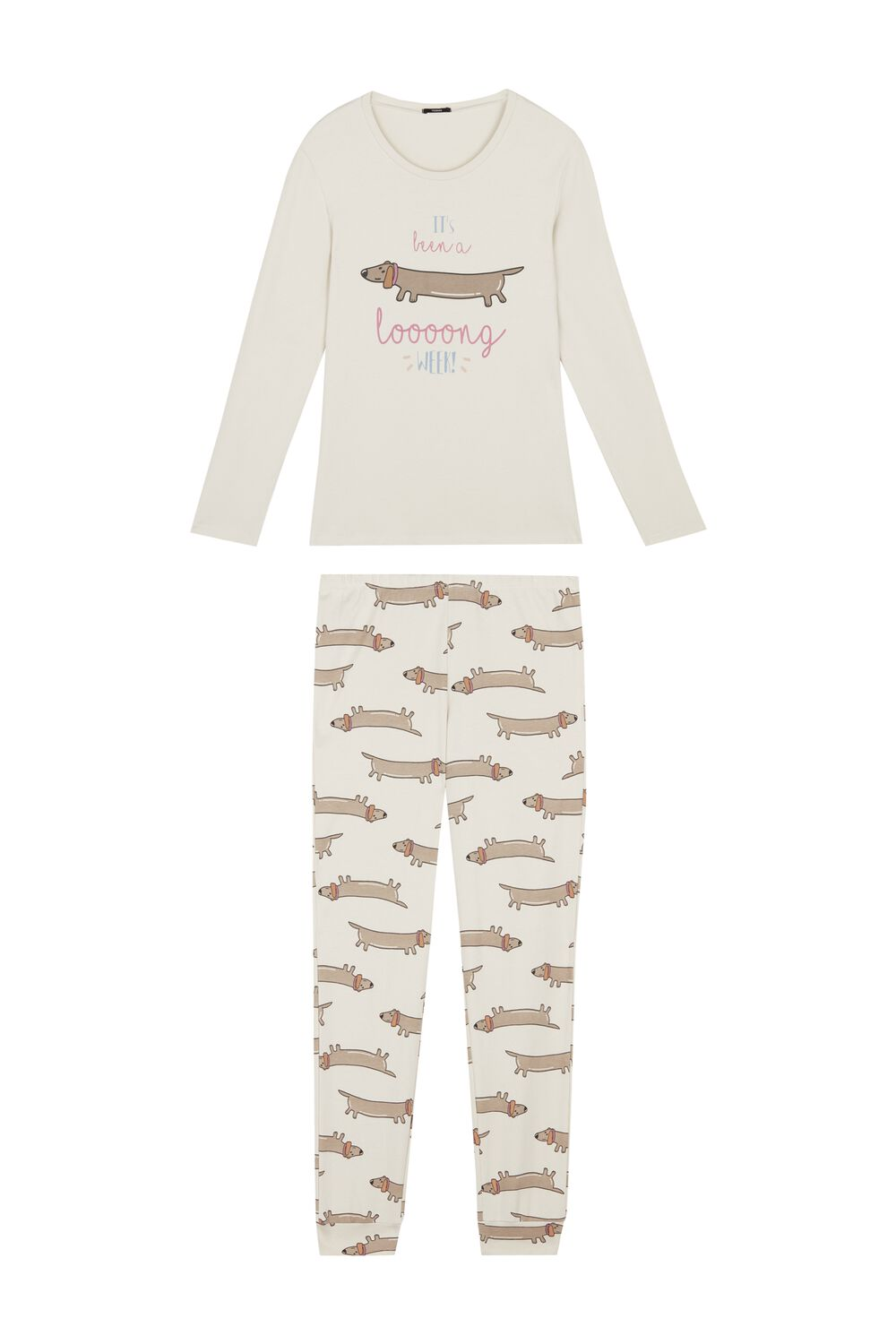 Long Dachshund Pajamas