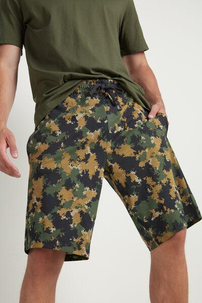 Pantalón corto en Punto de Algodón