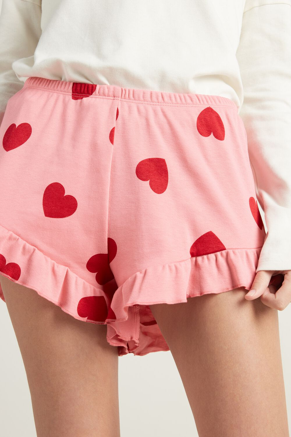 Ruched Shorts