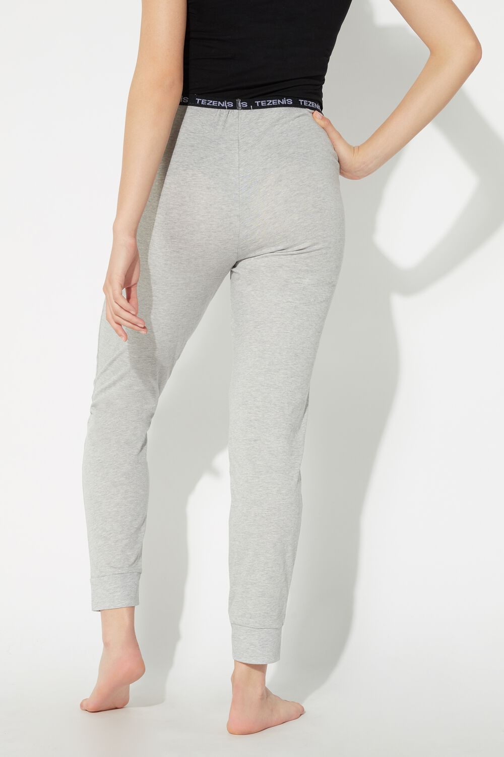 Pantalon Long en Coton Logo