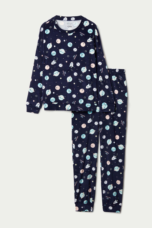 "Pijama Largo Microfibra Mr. Wonderful ""Dreams have no limits"""