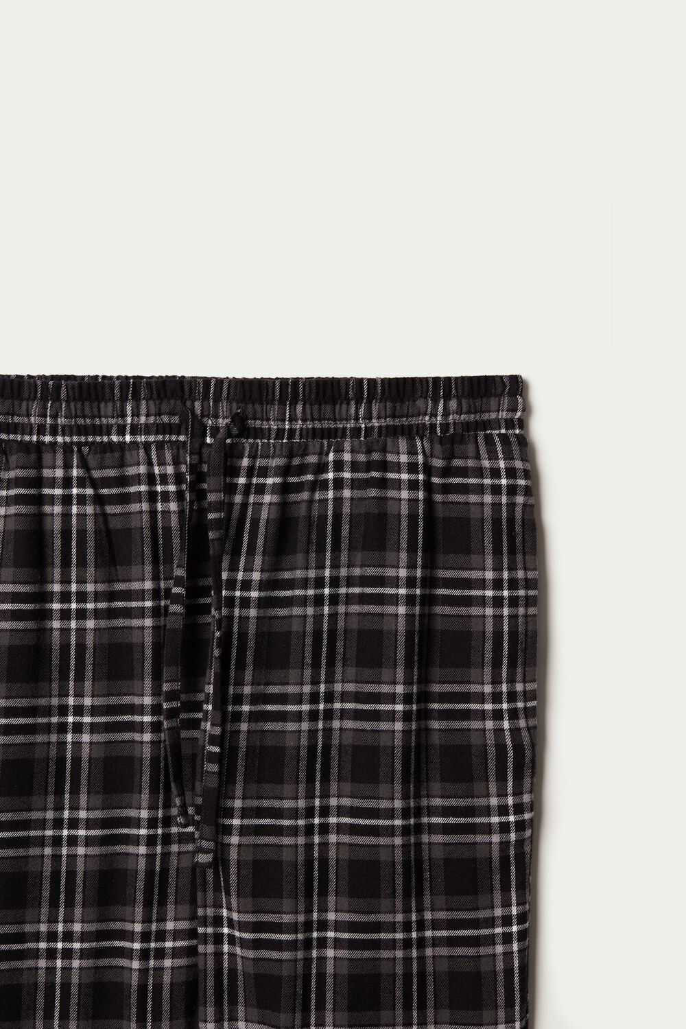 Long Flannel Pants with Pockets