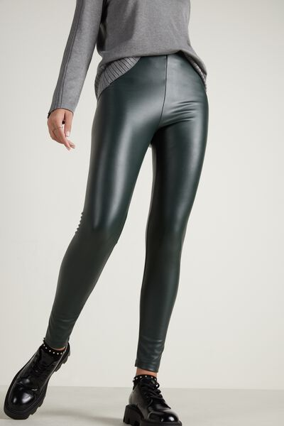 Leggings Termici in Similpelle