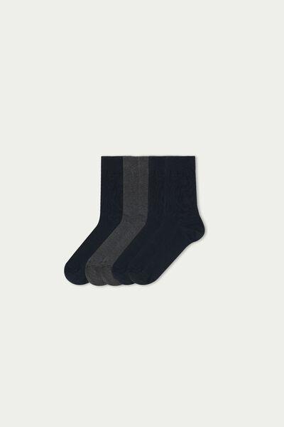 5x krátké ponožky z teplé bavlny