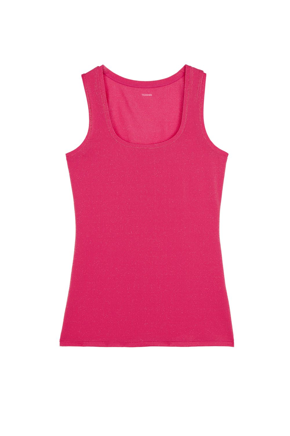 Wide Shoulder Stretch Cotton Camisole