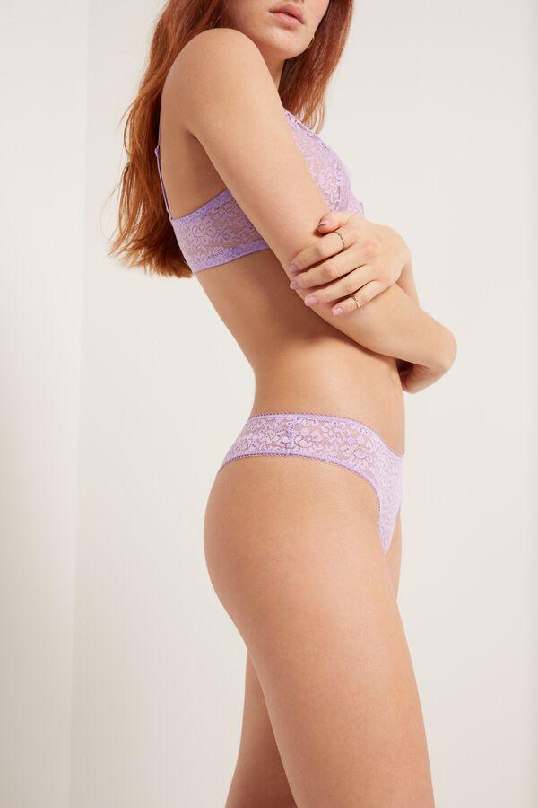 Recycled Lace Brazilian Panties