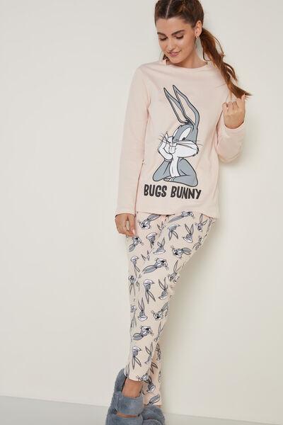 Dlouhé Pyžamo z Hrubé Bavlny