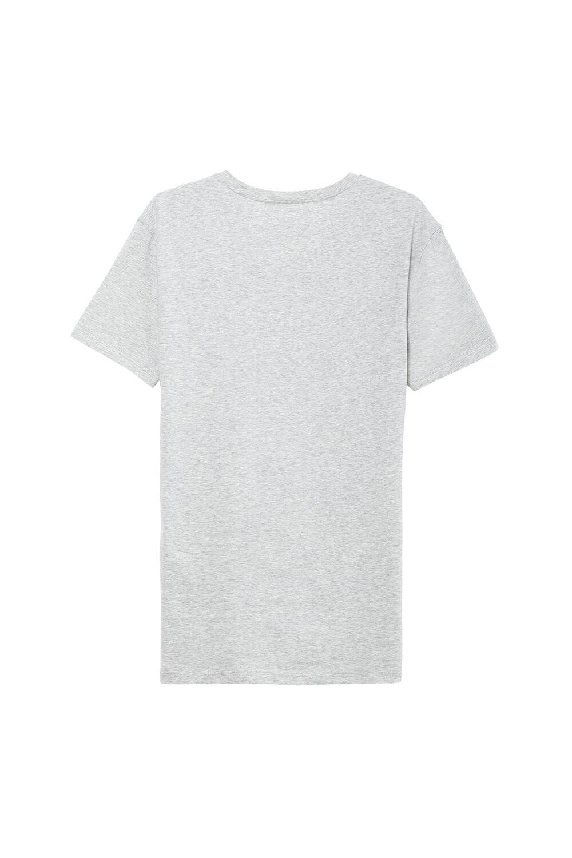 Triko s Výstřihem do V, z Bavlny se Zvýšenou pružností