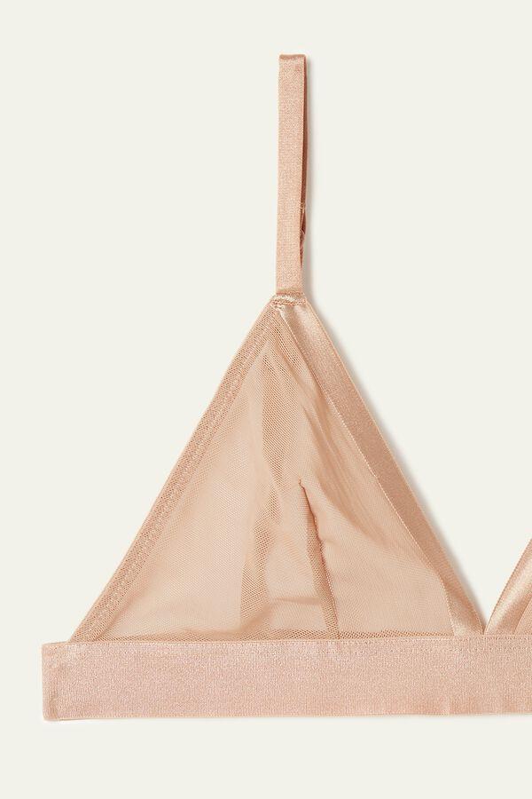 Sutien triunghi Lisabona din tul de plasă invizibil