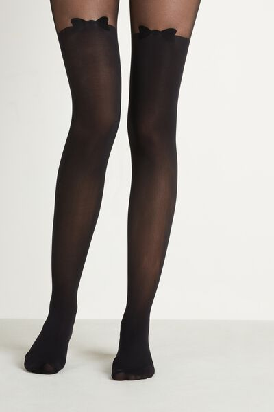 Over-Knee Effect Party Tights