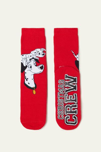 Disney 101 Dalmatians Print Non-Slip Socks