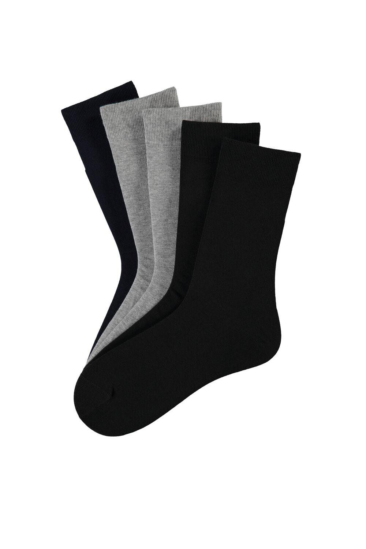 5er-Pack Kurze Socken Leichte Baumwolle