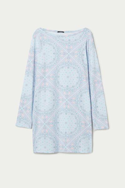 Nachthemd mit Paisley-Print