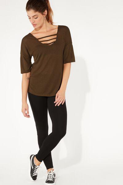 Jersey Lined Short T-shirt