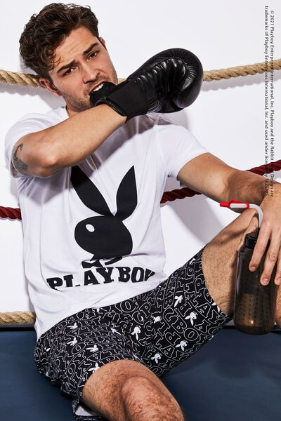 Pyjama Court Homme Playboy