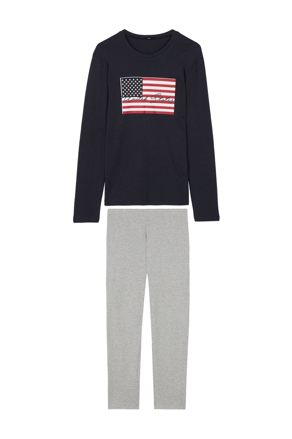 Men's Long USA Pyjama