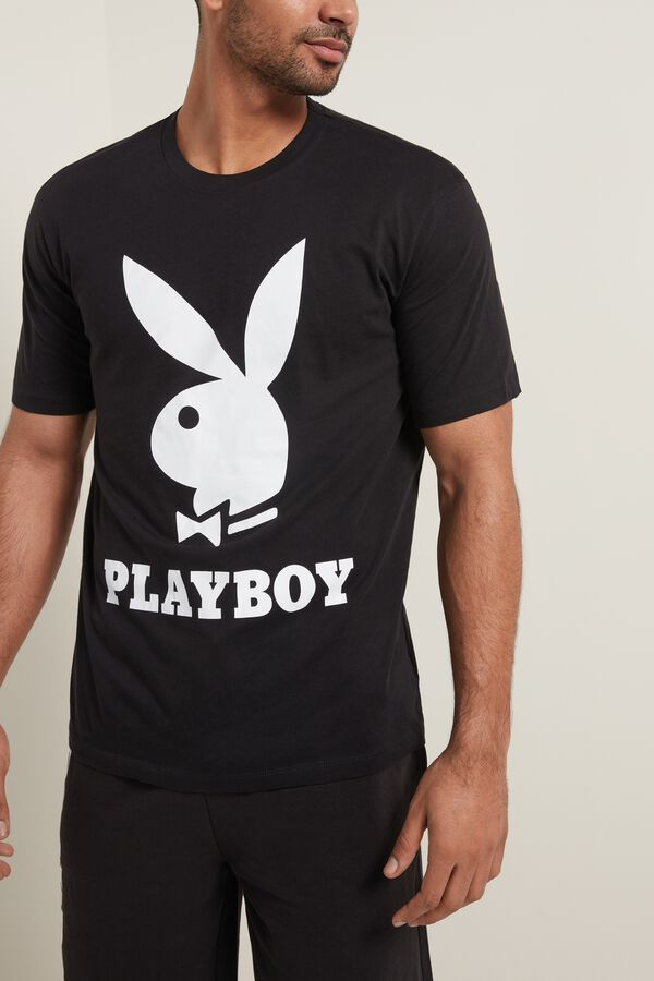 T-Shirt in Cotone Playboy