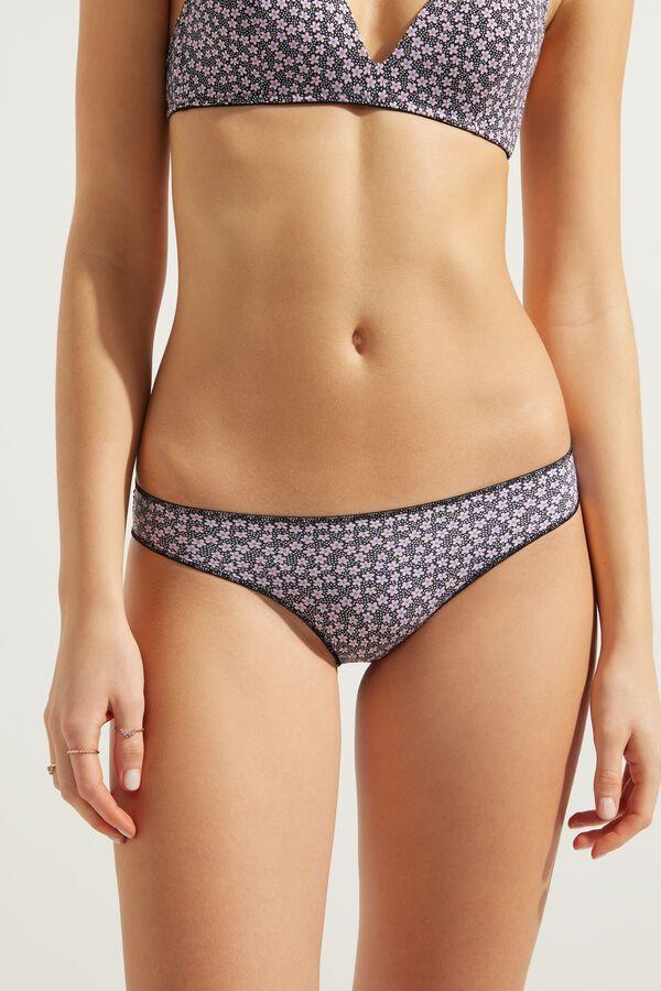 Panties in Printed Microfiber