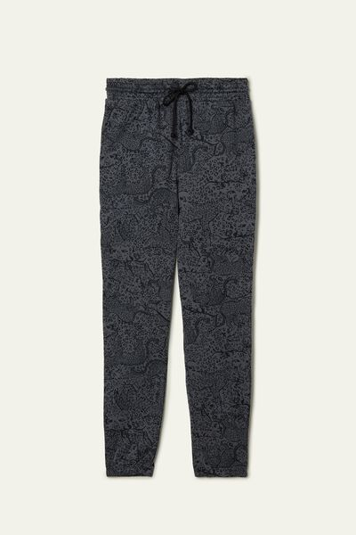 Jogging Pants with Welt Pocket