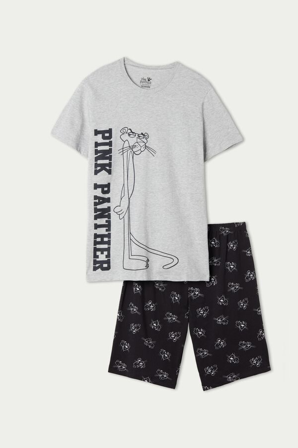 Men's Pink Panther Short Pyjamas