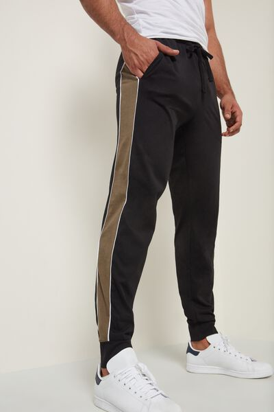 Trousers with Band and Pockets