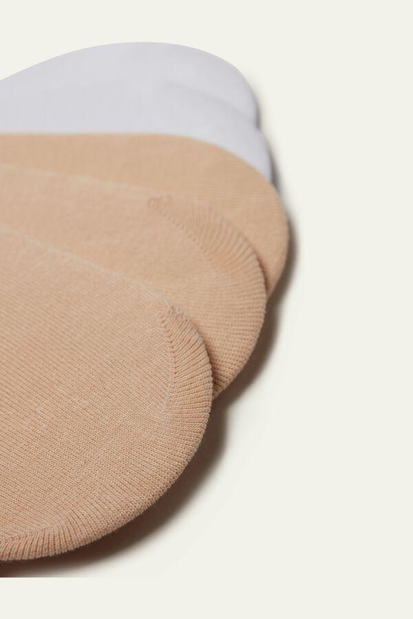 5 X Cotton No-Show Socks