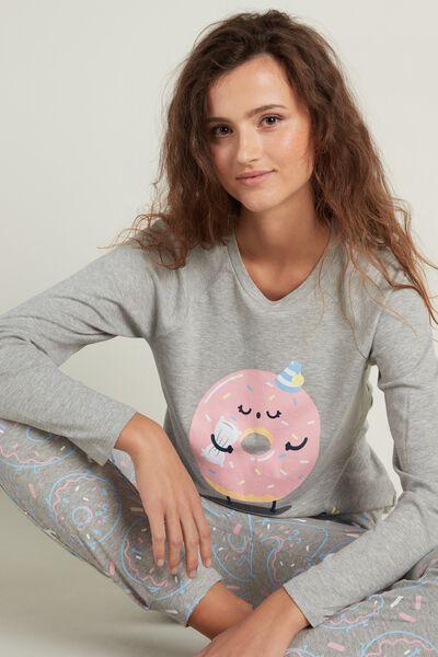 "Mr. Wonderful ""Sweet Dreams"" Long Cotton Pyjamas"